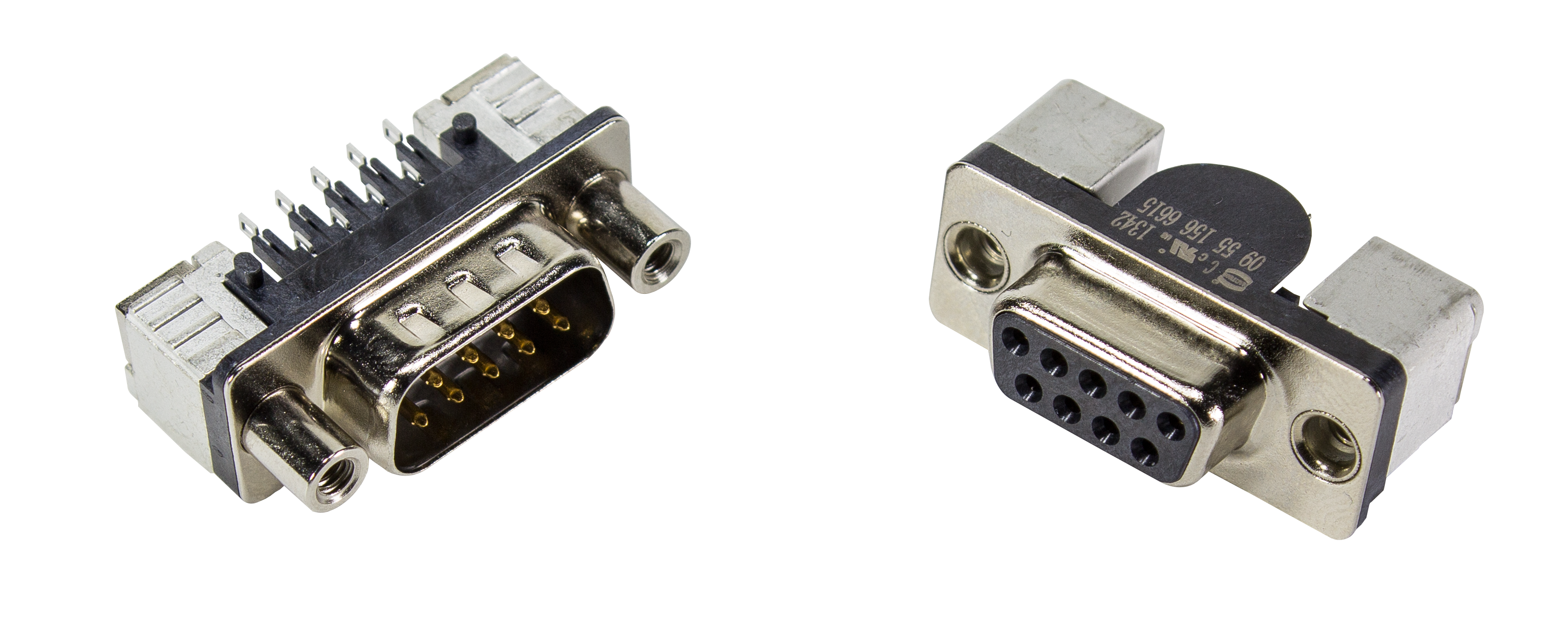 D-Sub Connectors male and female