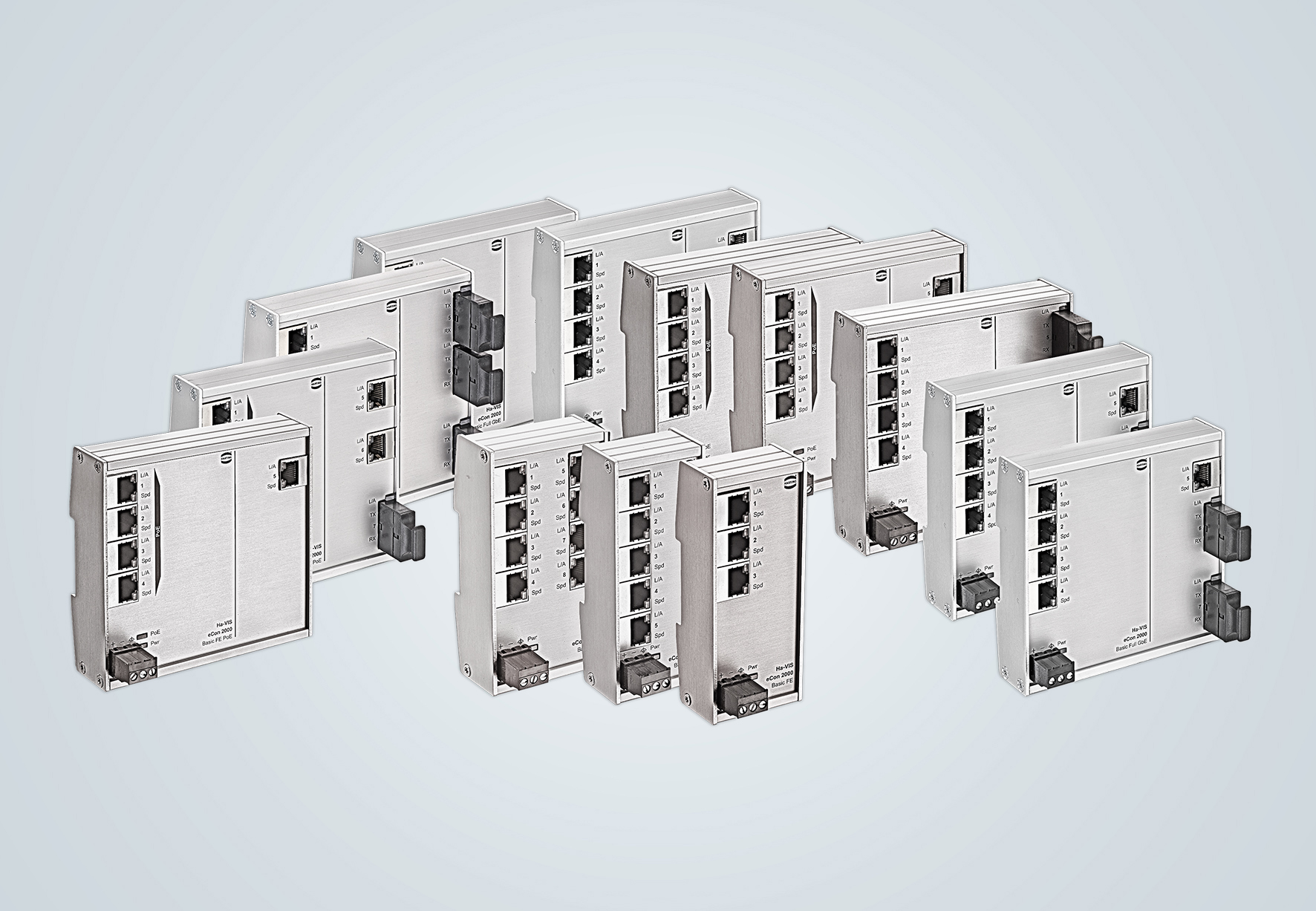 Unmanaged Ethernet Switches   HARTING Technology Group