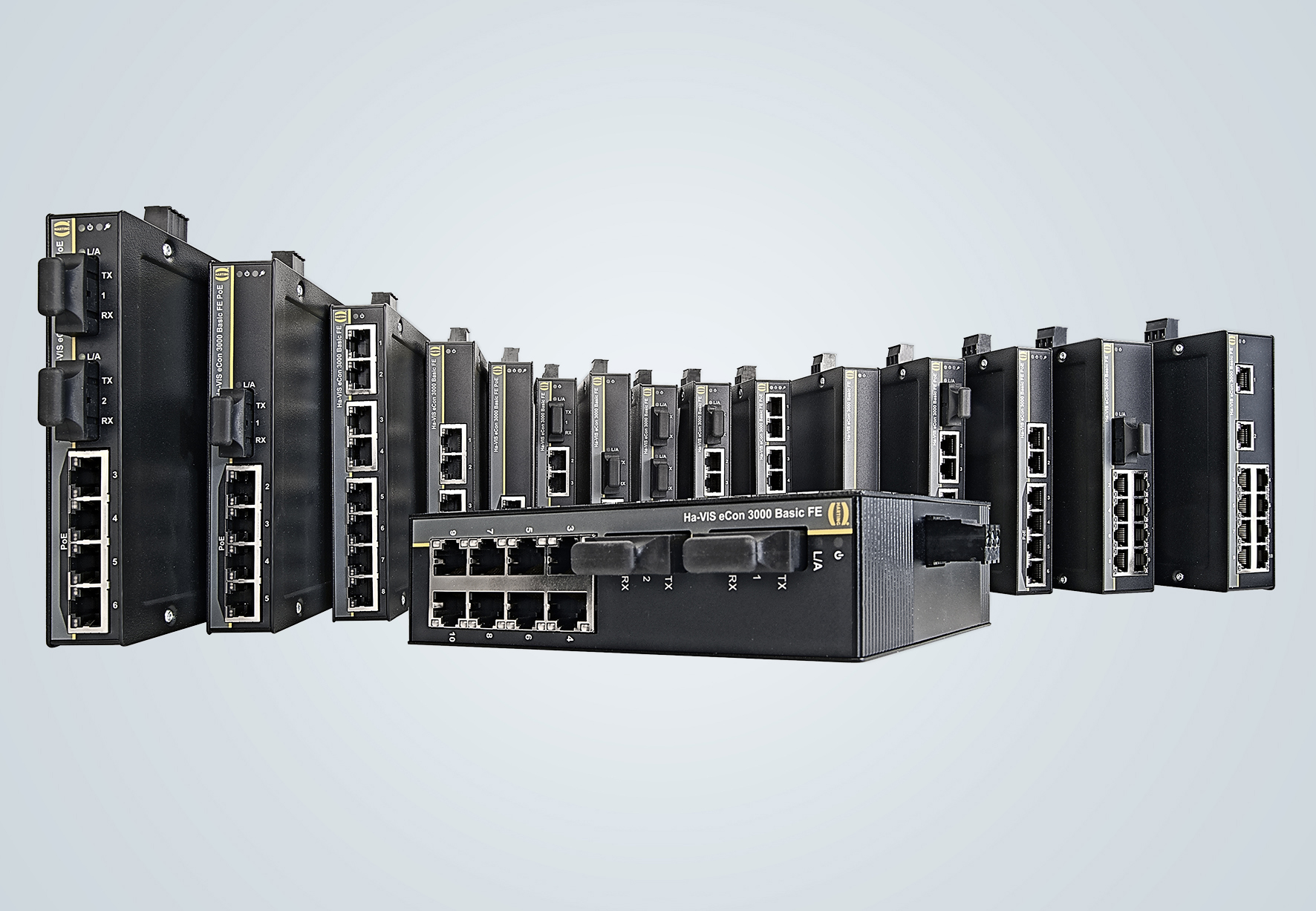 Unmanaged Ethernet Switches | HARTING Technology Group