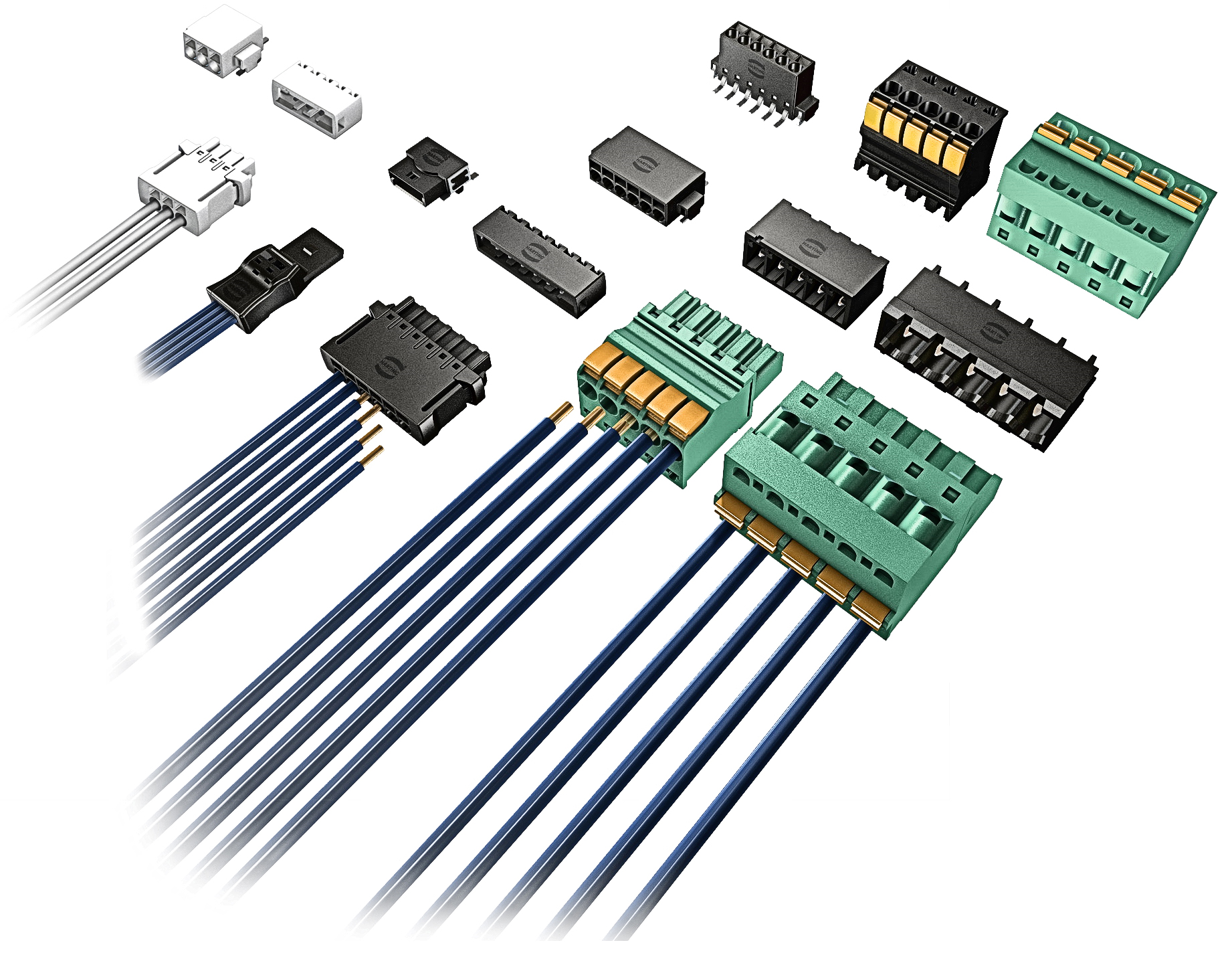 With The Cable On Pcb Har Flexicon Harting Technology Group Solutions Single Supply Shock Vibration Sensor Amplifier Range