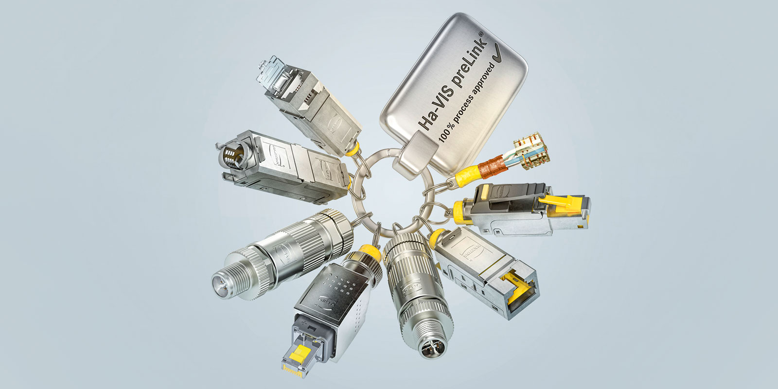 preLink® Ethernet cabling system | HARTING Technology Group