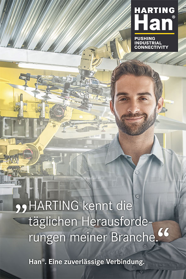 Industrie-Steckverbinder Han® | HARTING Technology Group