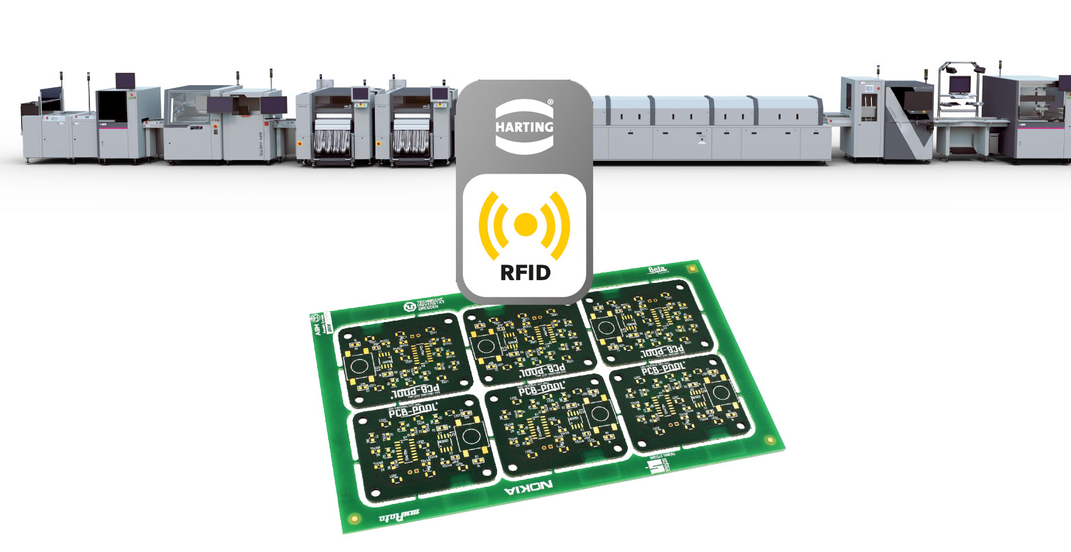 Smt Production Line Detects Pcb Via Rfid Harting Technology Group Assembly Manufacture Electronic Circuit Board China Buy Fr Bestckungsmaschinen