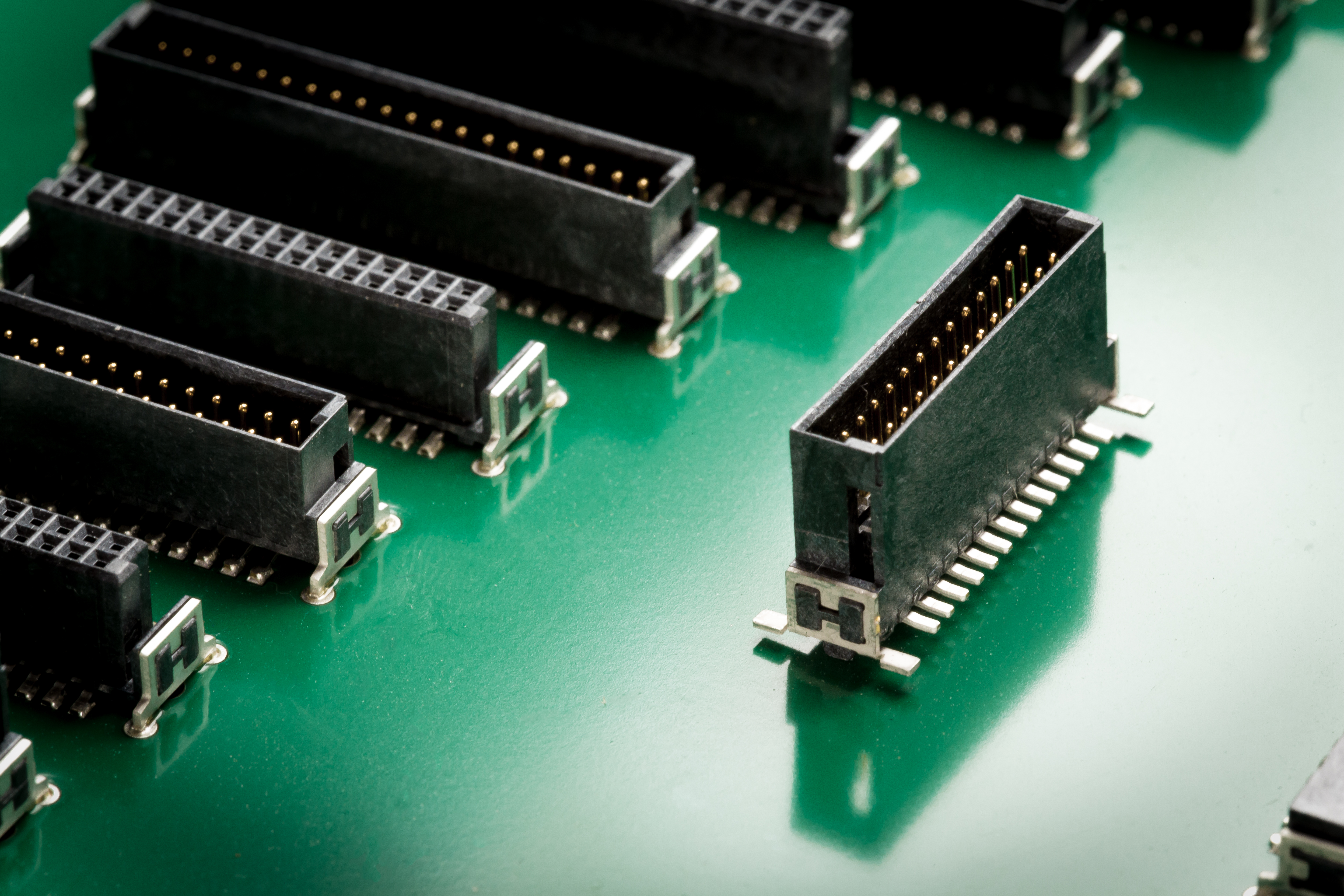 New Stacking Heights For The Miniaturised Har Flex Pcb Connectors Electronic Circuit Board With Processor Repair Boards Stock