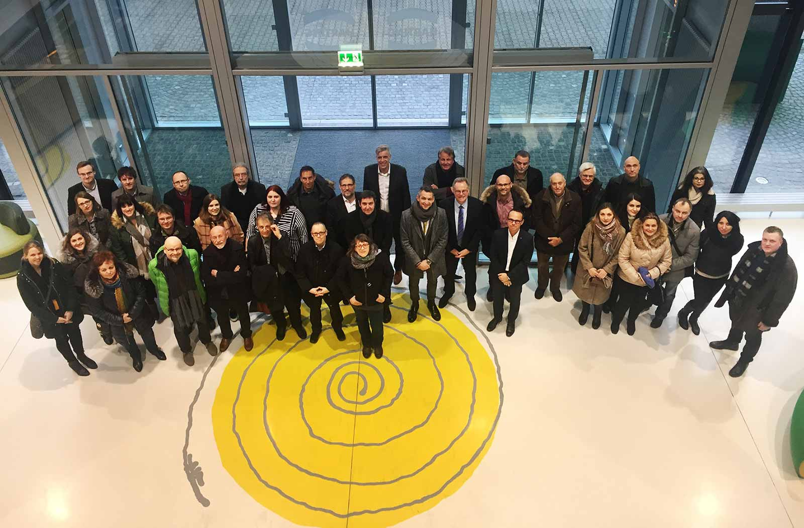 Trade journalists visit HARTING