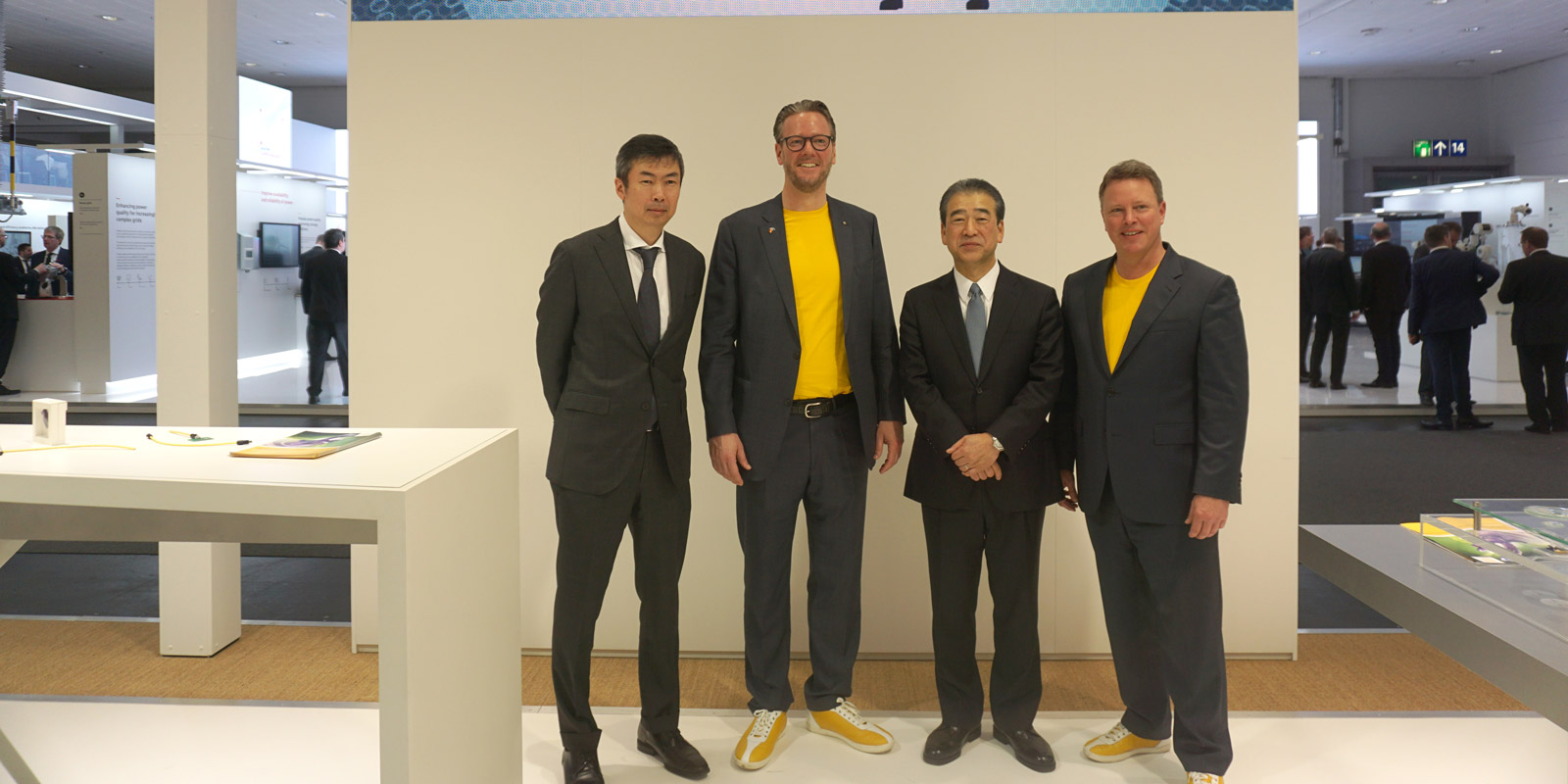 HARTING and HIROSE on the Hannover Messe