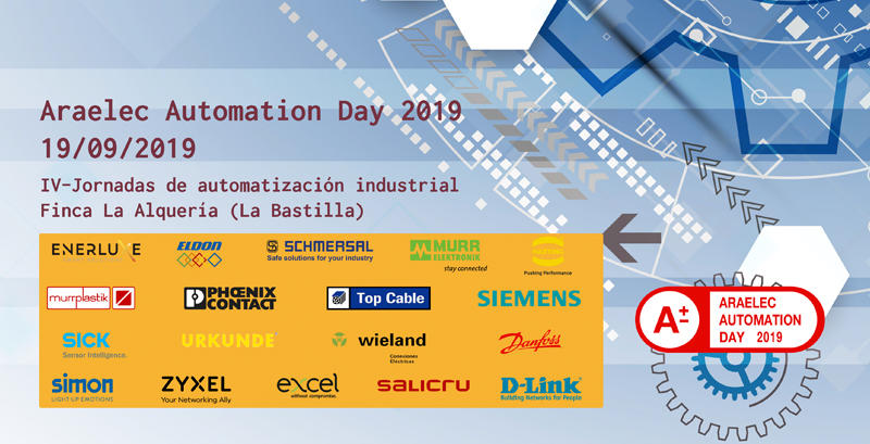 Invitación Araelec Automation Day 2019