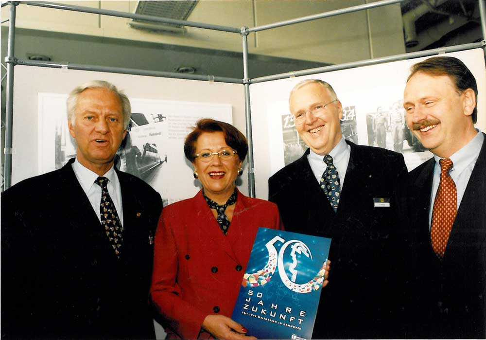 50th anniversary of the Hannover Messe and HARTING