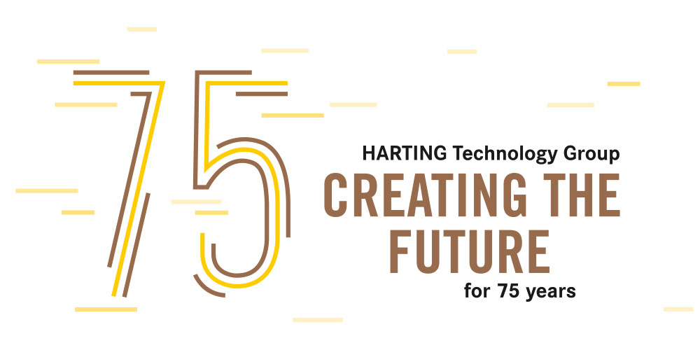 HARTING creating the future for 75 years
