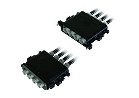 High-current connector Han® 22 HPR slim