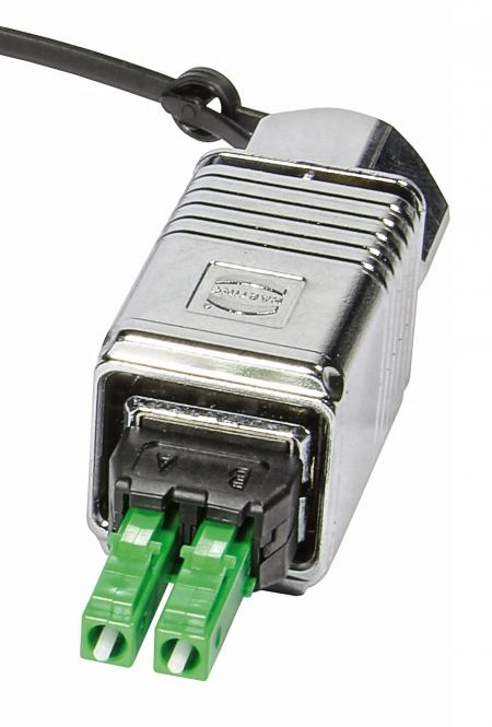PushPull LC connector