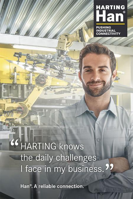 Han®: HARTING knows the daily challenges I face in my business