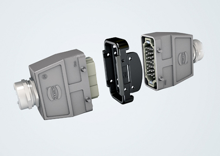 Locking systems: Han® Hood Link