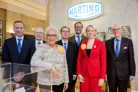 HARTING year's annual press conference