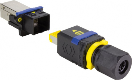 HARTING PushPull Connector (IEC 61 076-3-106 variant 4)