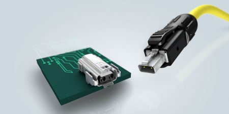 SPE single pair ethernet T1 Industrial connector
